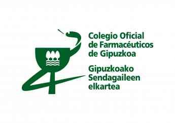 Logitipo Colegio Oficial de Farmacéuticos de Gipuzkoa.