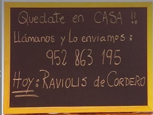 La Rosticceria, empresa de comida a domicilio en Marbella, sigue ofreciendo servicio durante el Covid-19