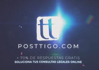 Foto de Posttigo.com para solucionar consultas legales online
