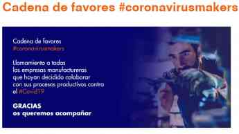 Noticias Madrid | Cadena de favores #coronavirusmakers
