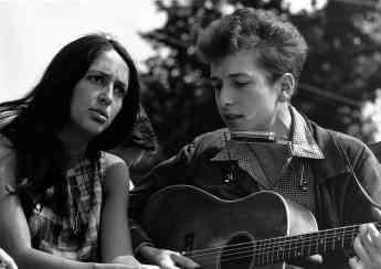 Foto de Bob Dylan en los años Sesenta