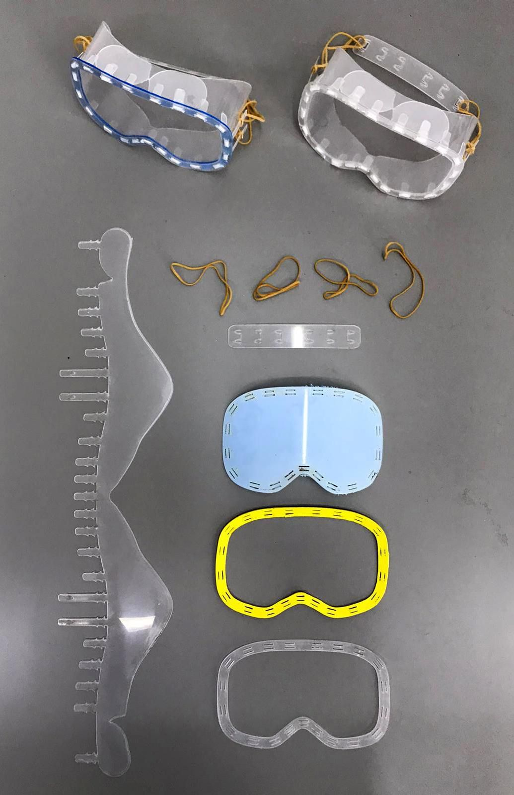 Foto de Prototipo de las gafas sanitarias