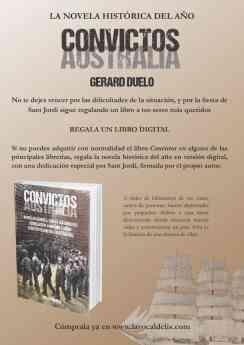 """GERARD DUELO PRESENTA """"CONVICTOS"""""""