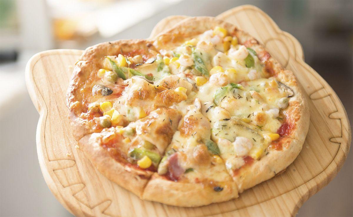 Foto de masa de pizza