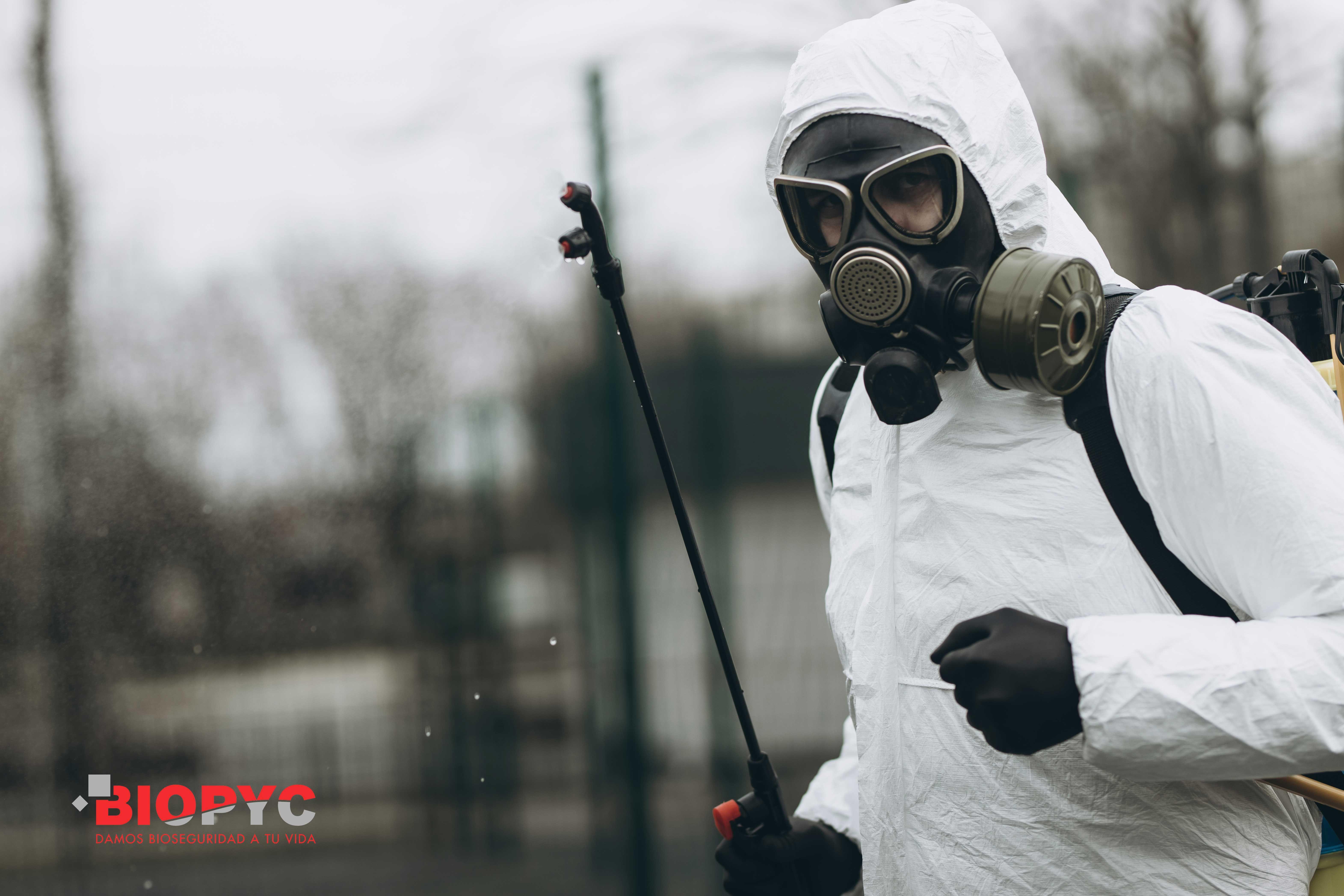Biopyc realiza desinfecciones preventivas y en zonas con casos confirmados en Covid19