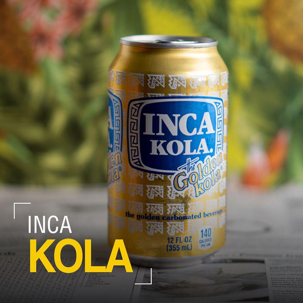 Fotografia Inca Kola