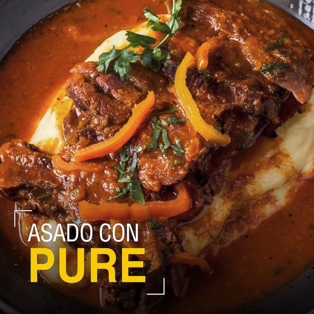 Fotografia Asado con Perú