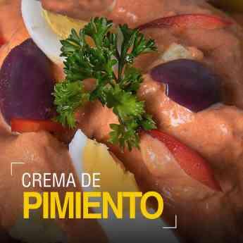 Foto de Crema de Pimiento