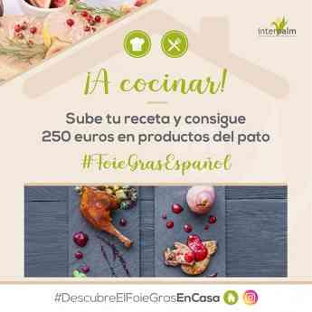Concurso de recetas con #FoieGrasEspañol