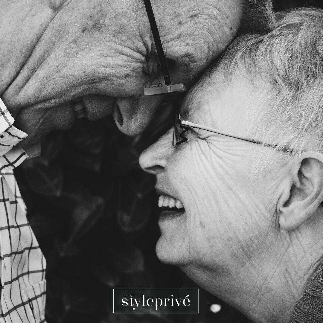 Foto de Una pareja de ancianos, clientes de StylePrivé.