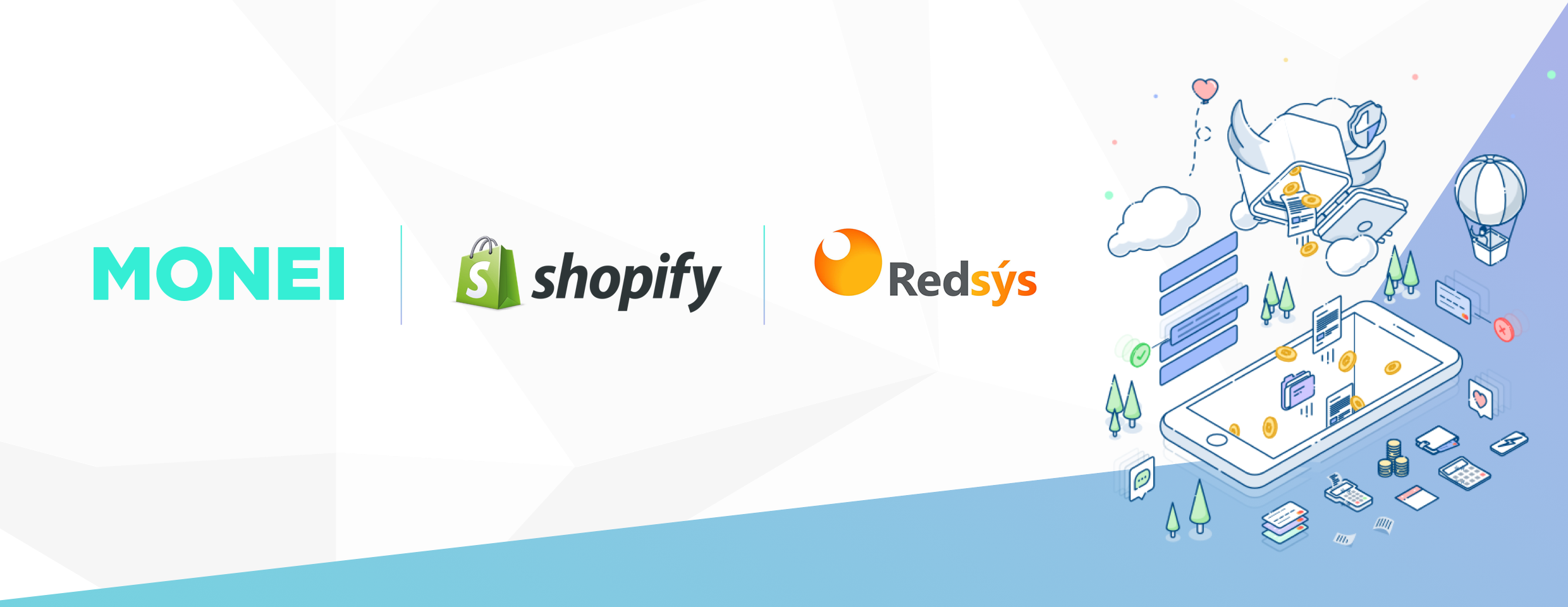 Foto de MONEI + SHOPIFY + REDSYS