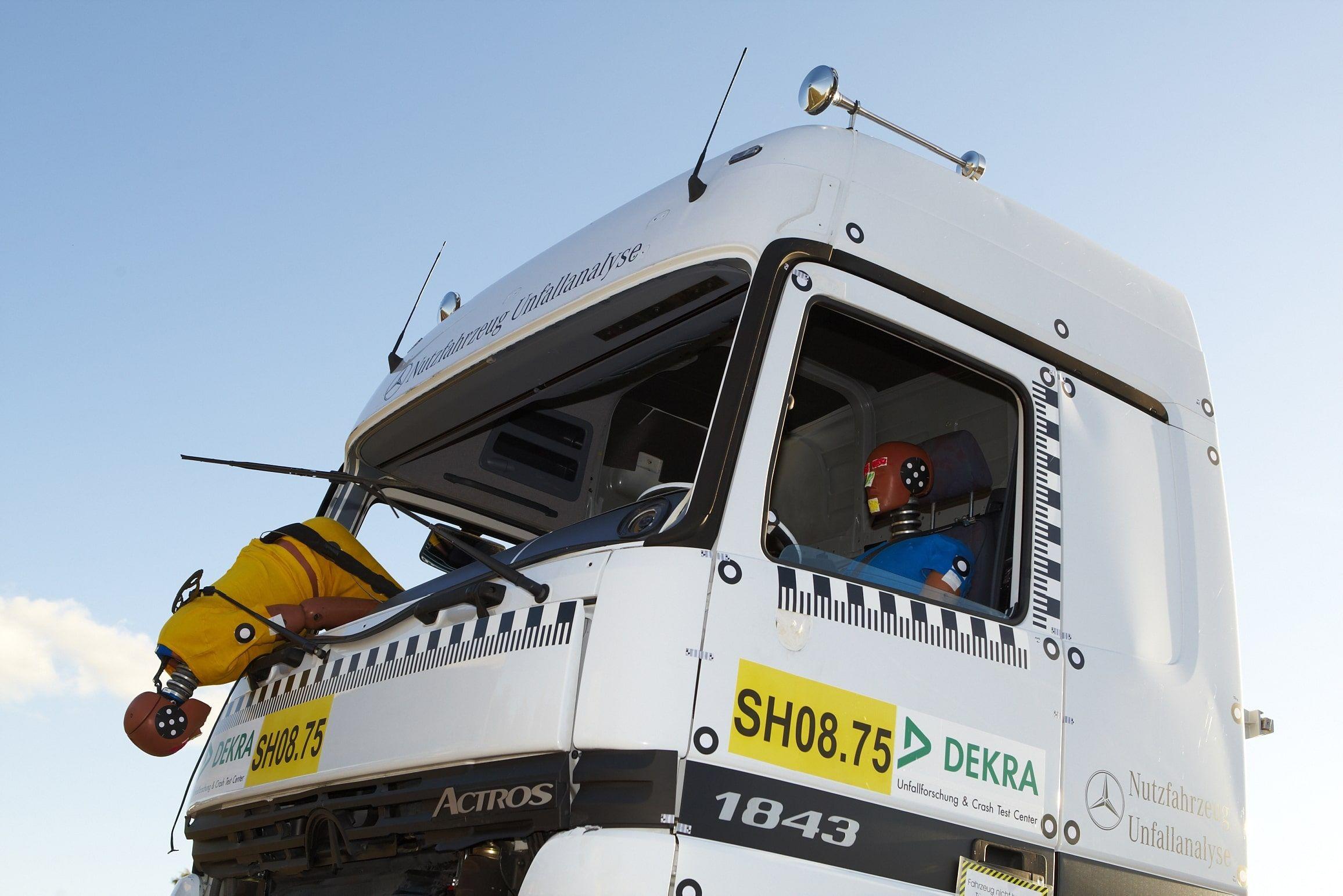 DEKRA como Miembro Afiliado de EURO NCAP en la seguridad de camiones