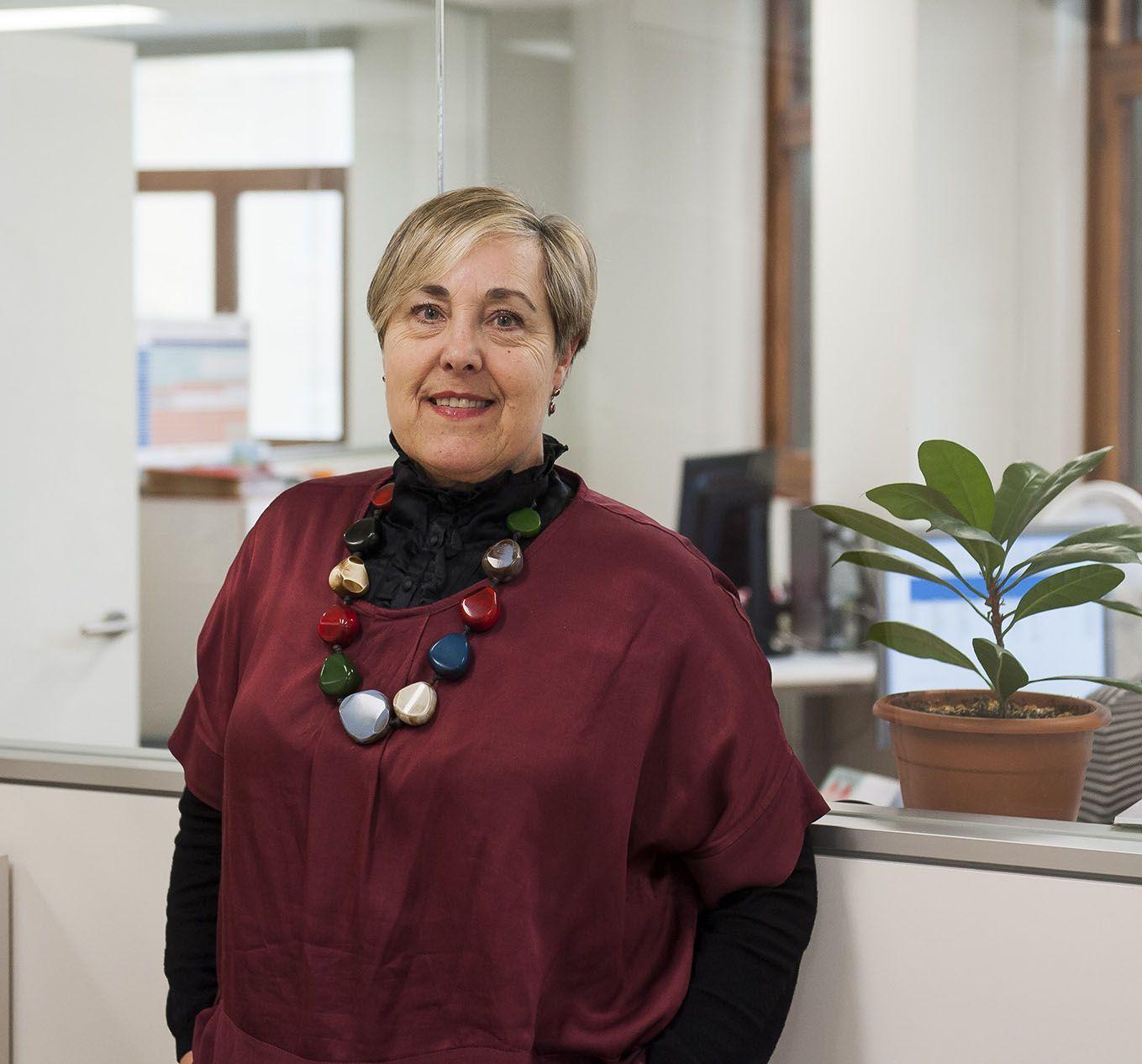 Foto de Rosa Sancho, responsable de la Comisión de Vacunación del