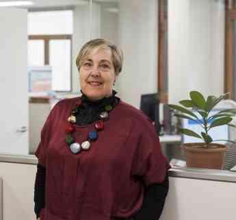 Rosa Sancho, responsable de la Comisión de Vacunación del COEGI.