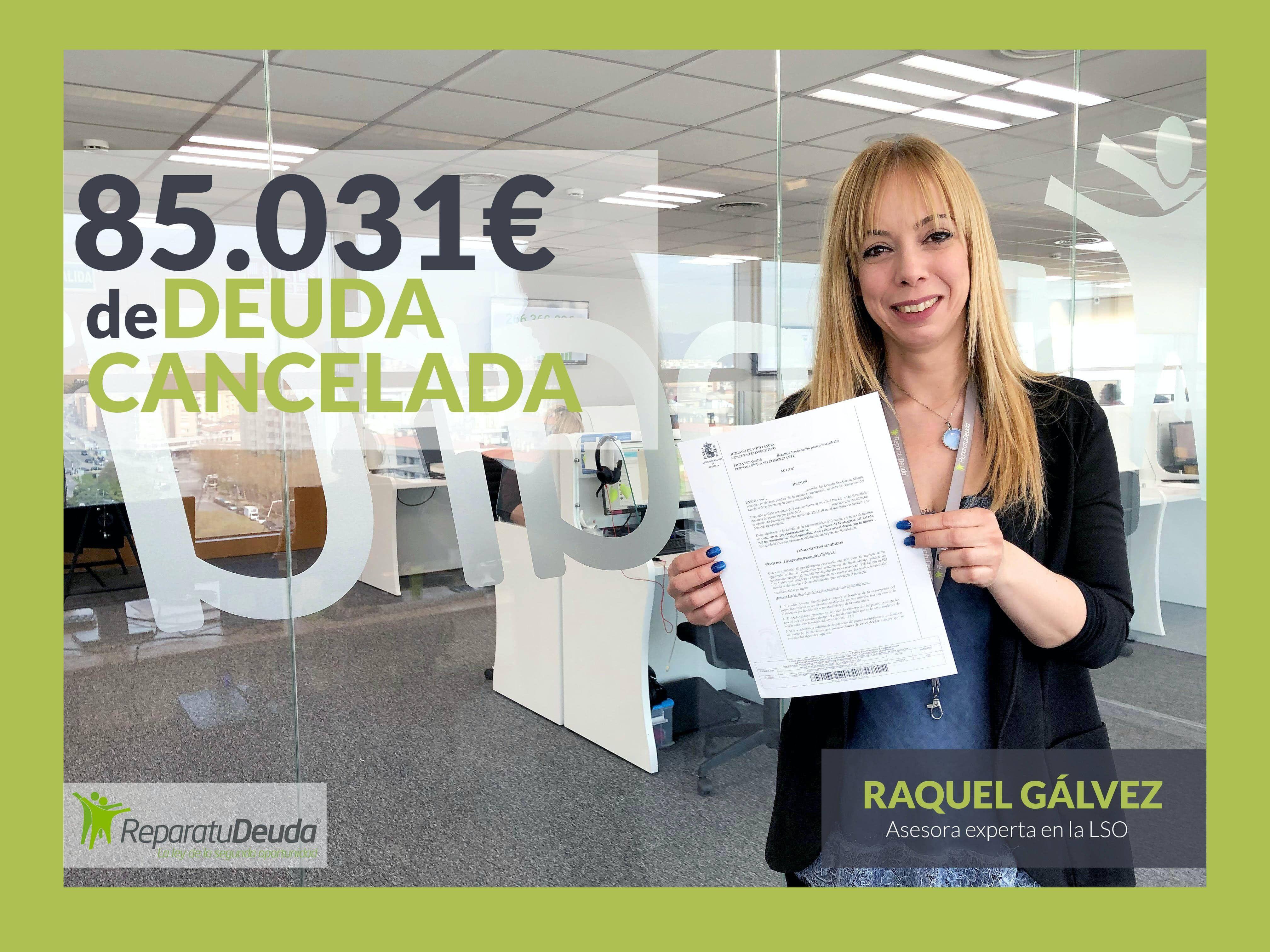 Los abogados de Repara tu deuda cancelan 85.031 ? a un matrimonio con la Ley de la Segunda Oportunidad