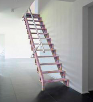 Escalera plegable