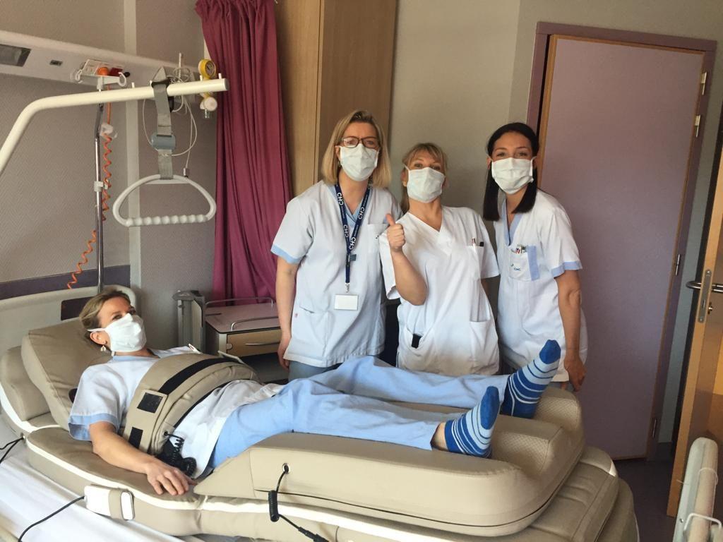 Foto de donacion personal sanitario