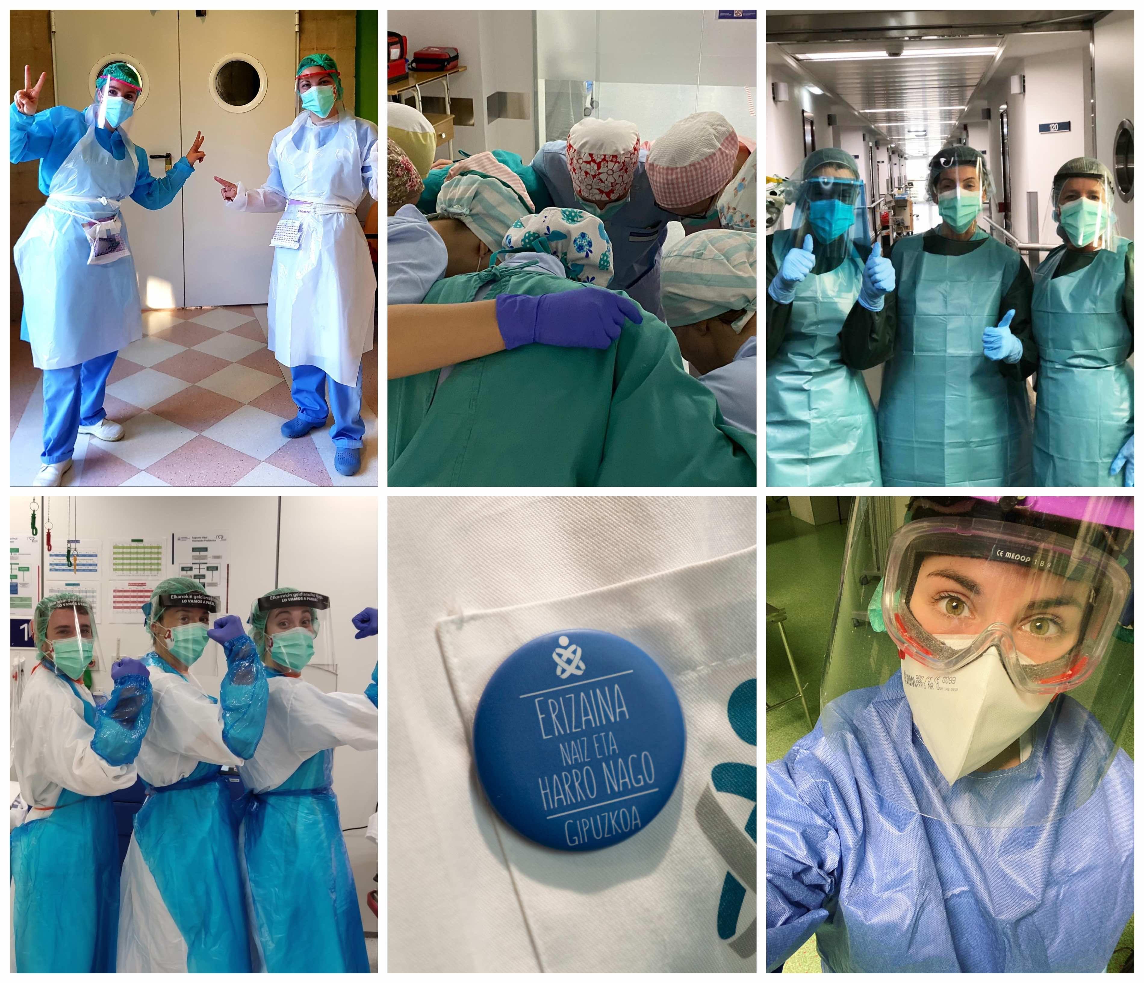 Foto de FOTO: Imágenes de archivo de enfermeras guipuzcoanas.