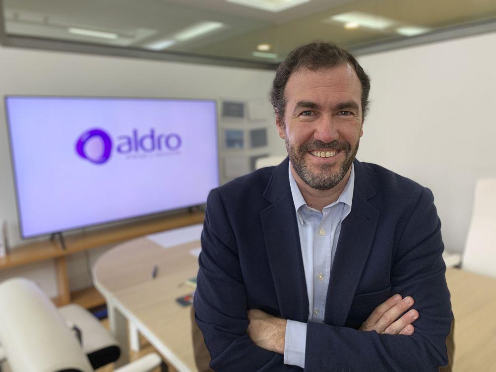 Foto de Antonio Colino, Director General de Aldro