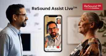 GN revoluciona la teleasistencia en Audiología con 'ReSound Assist Live desde casa'