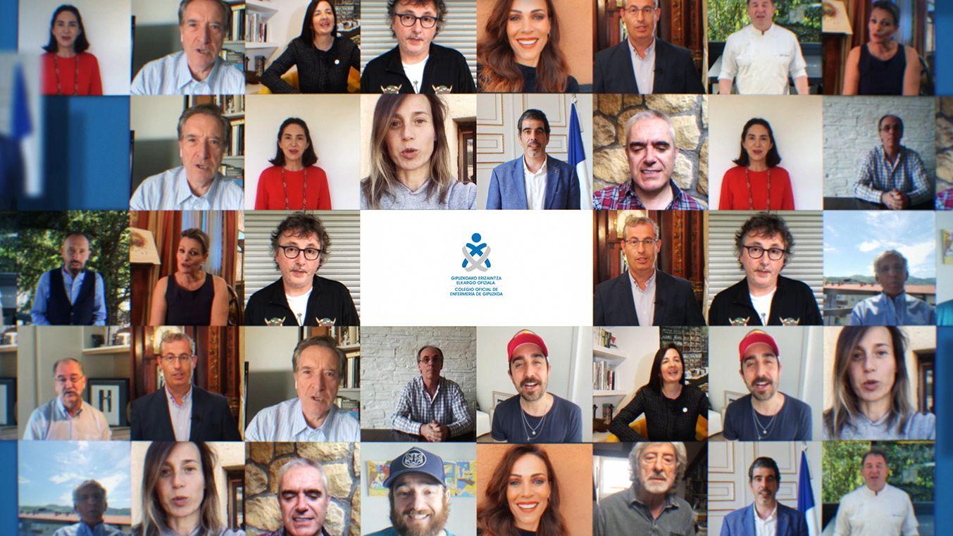 Foto de Rostros conocidos y ciudadanos de Gipuzkoa reconocen el
