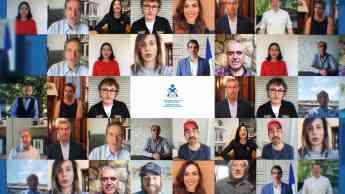 Rostros conocidos y ciudadanos de Gipuzkoa reconocen el trabajo de la Enfermería en su Día Internacional