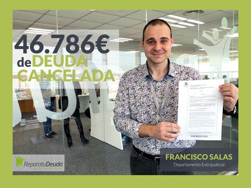 Foto de Francisco Salas, asesor de la ley de la segunda oportunidad