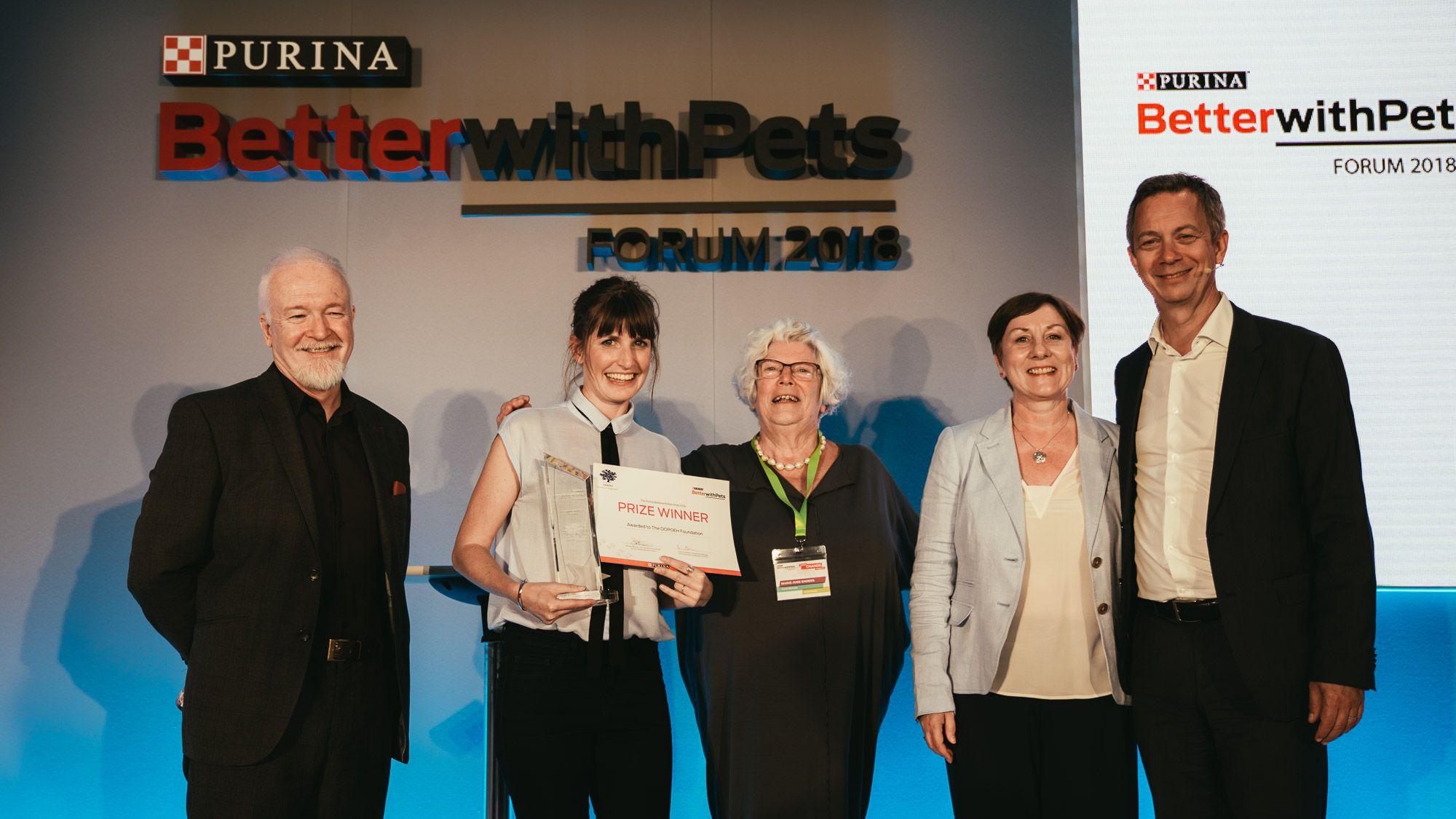 Purina anuncia los finalistas del Premio BetterwithPets Prize 2020