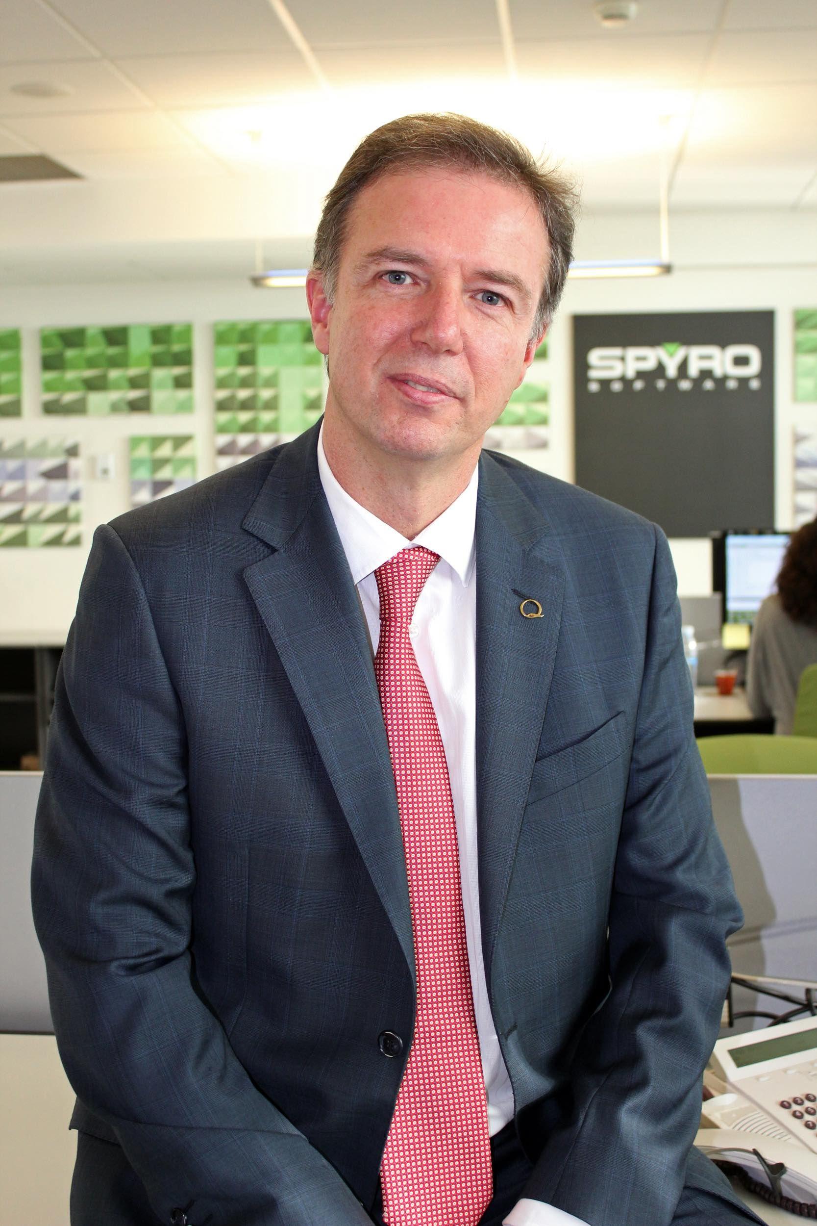 Foto de Ricardo González, fundador y Director General de Spyro