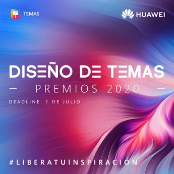 Huawei abre un año más la convocatoria a su Concurso Global de Diseño de Temas para smartphone y smartwatch