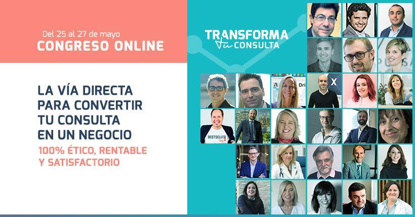 Foto de Congreso virtual Transforma tu consulta