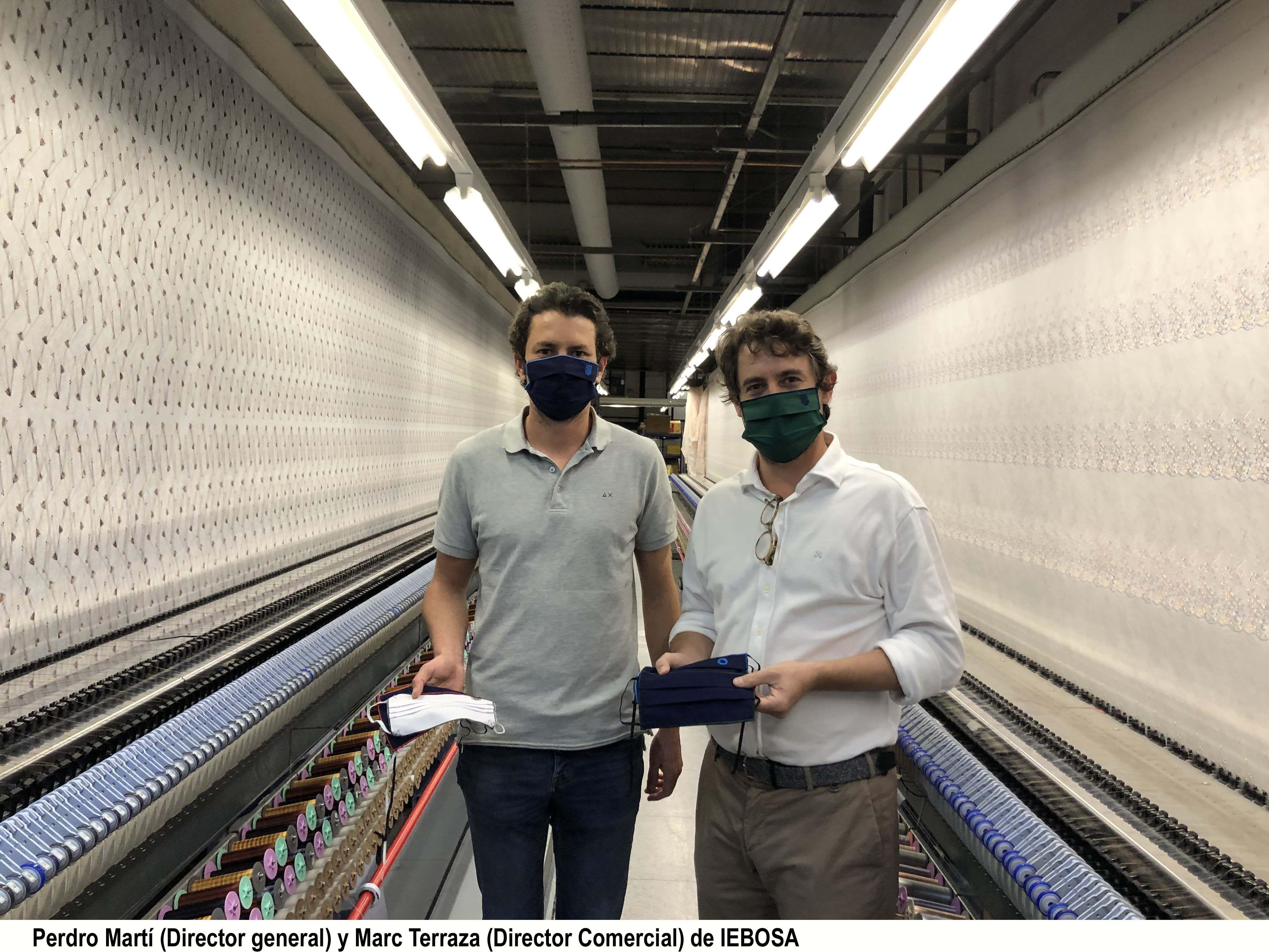IEBOSA se reinventa como fabricante de máscaras personalizadas,