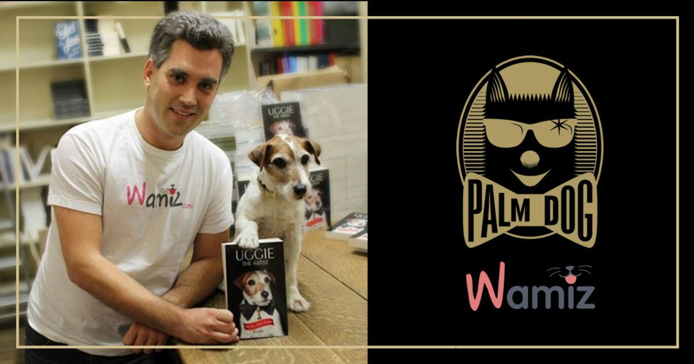 "La Palm Dog Wamiz de Honor es para Uggie por ""The Artist"","