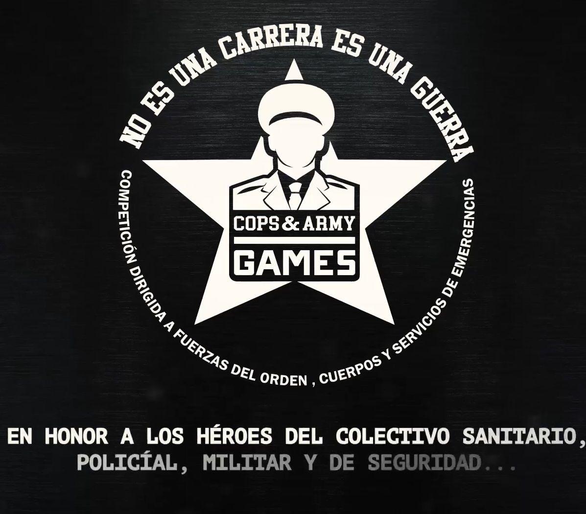 Cops & Army Games, rinde homenaje a las Fuerzas Armadas, Cuerpos de Seguridad y sanitarios