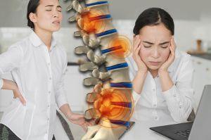Trabajo en casa aumenta el riesgo de problemas en la espalda