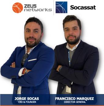 Jorge Socas, CEO del Grupo Socassat y Francisco Marquez, Director General Socassat Instalaciones y Servicios