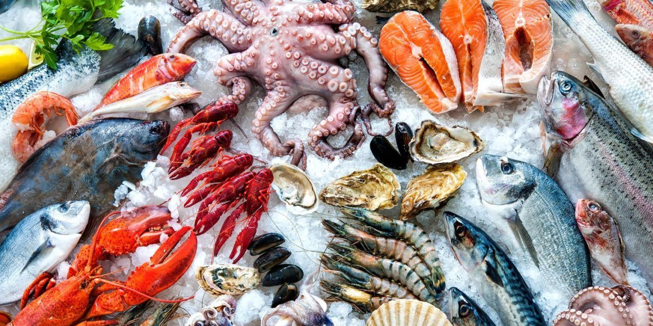 Foto de Mariscos y pescados frescos