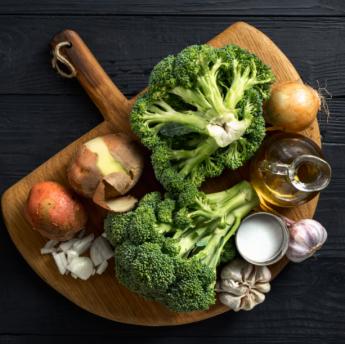 Foto de Bodegón de verduras y hortalizas