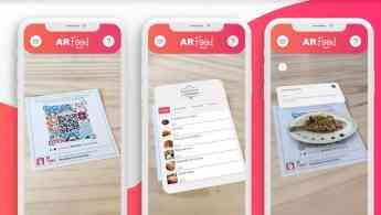 AR Food revoluciona la forma de ver la Carta