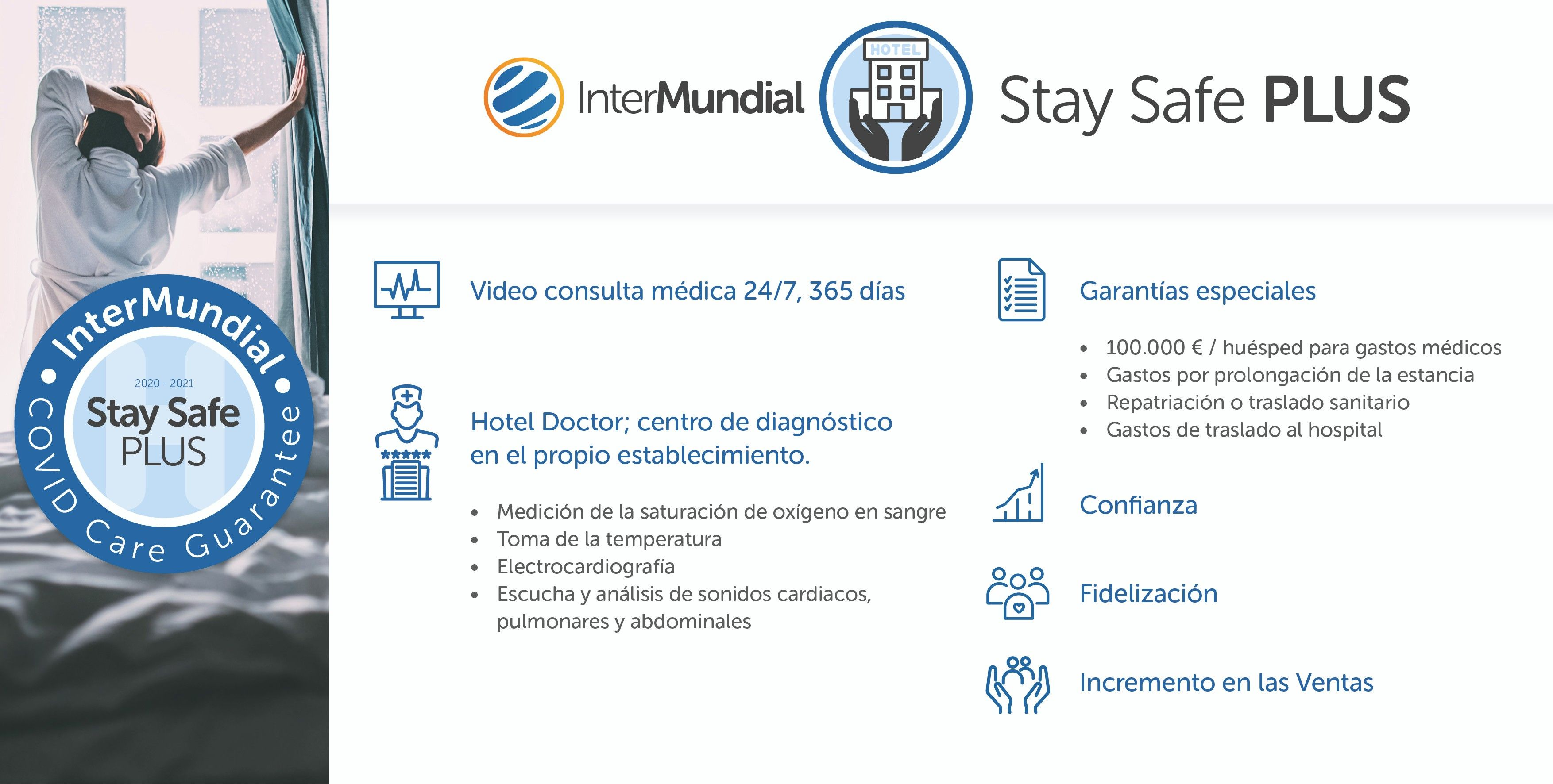 Stay Safe Plus de InterMundial, la apuesta de valor para el sector hotelero