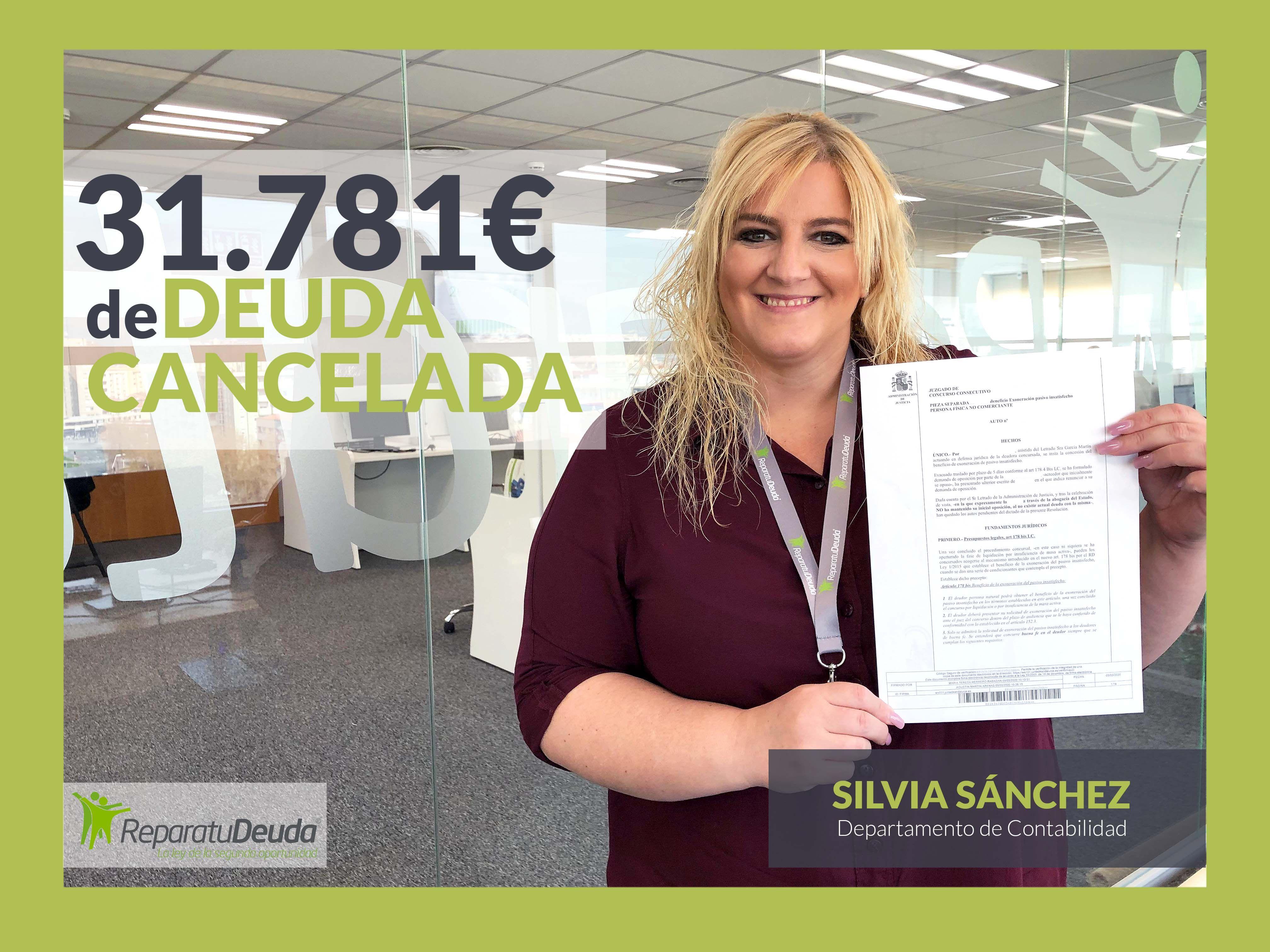 Foto de Silvia Sanchez del equipo de Repara tu deuda abogados