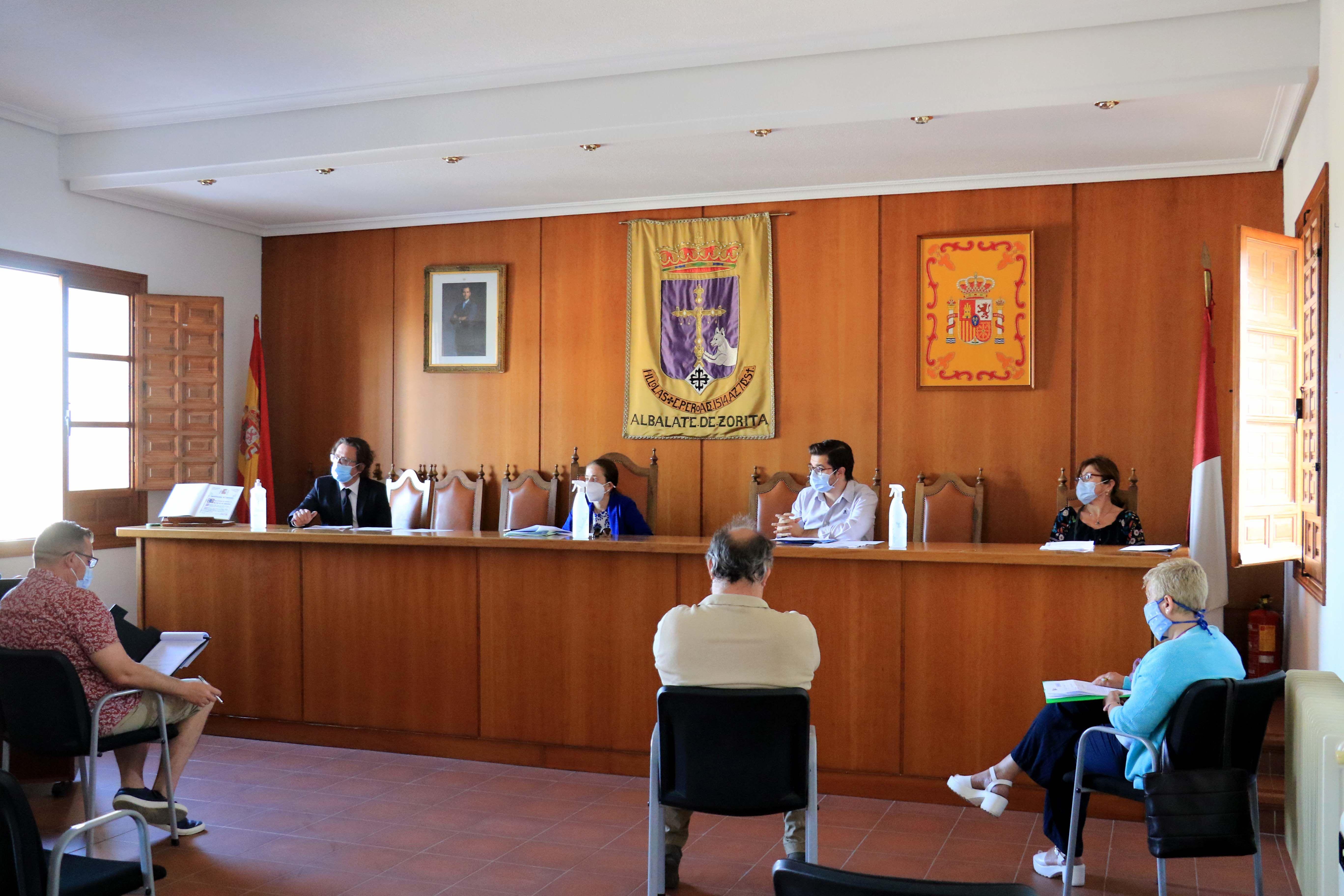 Foto de Pleno Ayuntamiento de Albalate de Zorita