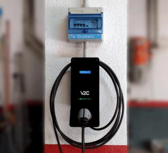 Instalación del Punto de Recarga Dark V2C