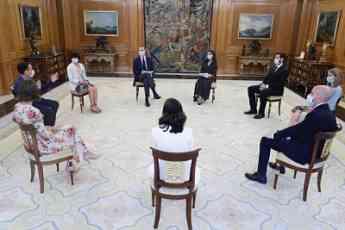 Noticias Madrid | Audiencia South Summit en el Palacio de la Zarzuela