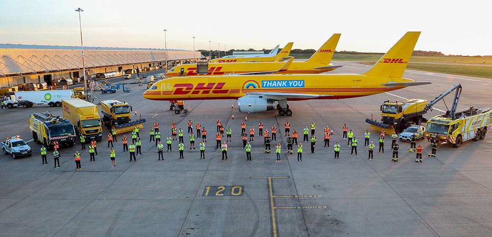 Foto de Vuelo Thank You de DHL Express
