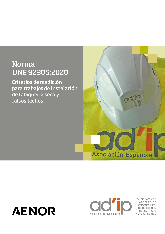 NORMA UNE 92305:2020, AD?IP aporta una herramienta esencial para el Instalador
