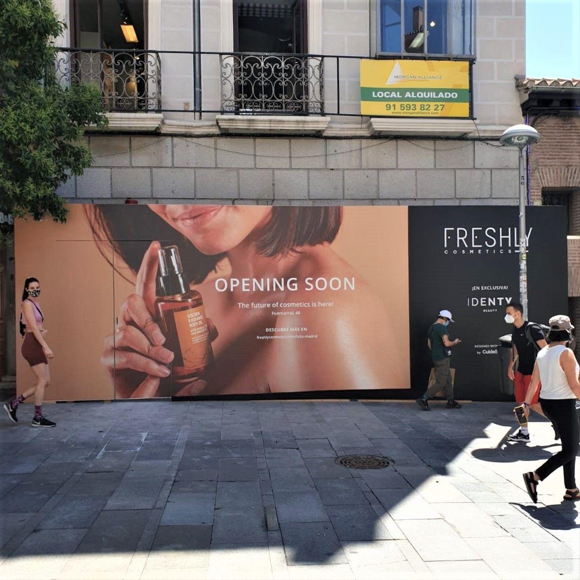 Freshly Cosmetics abre su primera Freshly Store en Madrid
