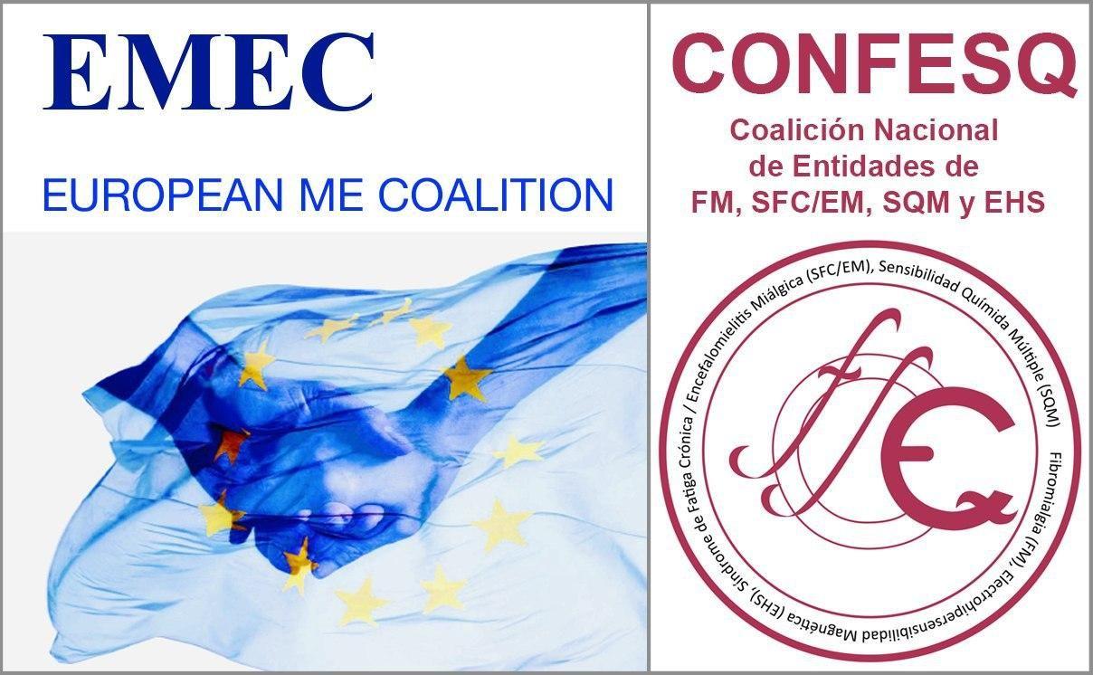 Foto de ME European Coalition y CONFESQ España unidos en la peticion