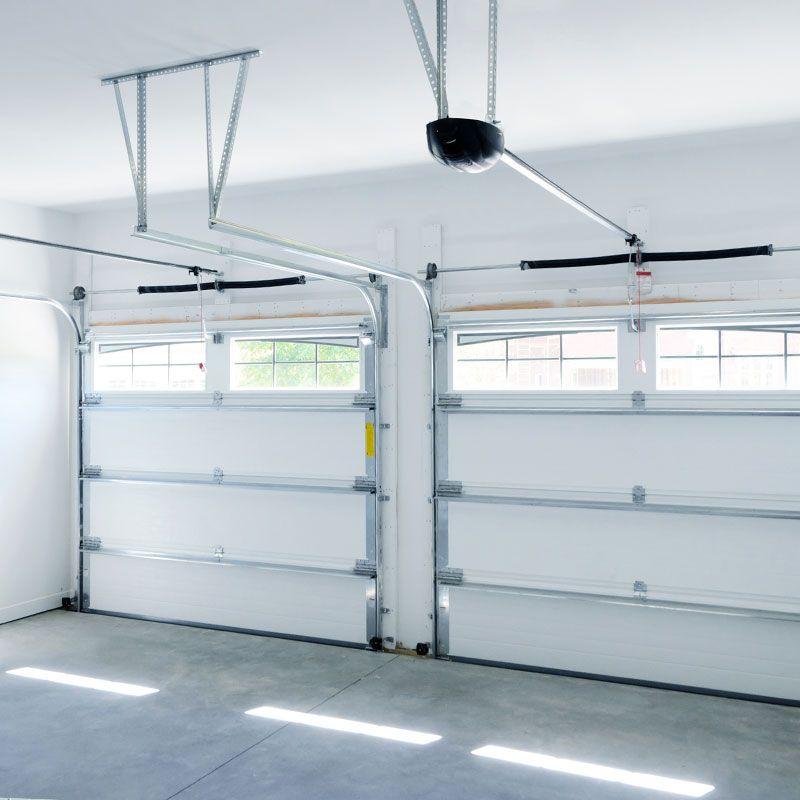 Foto de instalación de puertas automáticas