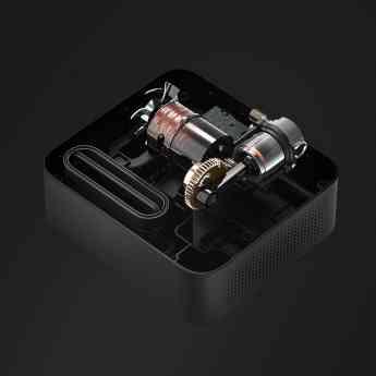 Foto de Engranajes de Metal, Cable de Alimentación de Cobre HAI de